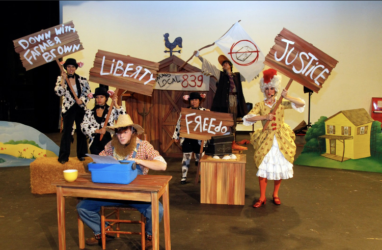 Click Clack Moo, CSU Fresno Theatre For Young Audiences